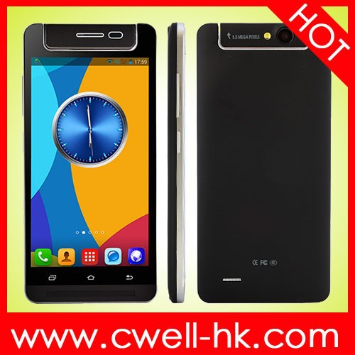 X-BO V5 Rotatable Camera mtk 6572 dual core unlocked android phone