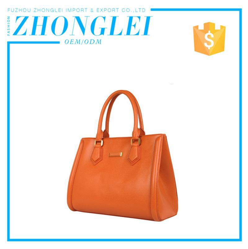 100% Genuine Leather Vintage Lady Handbag Factory