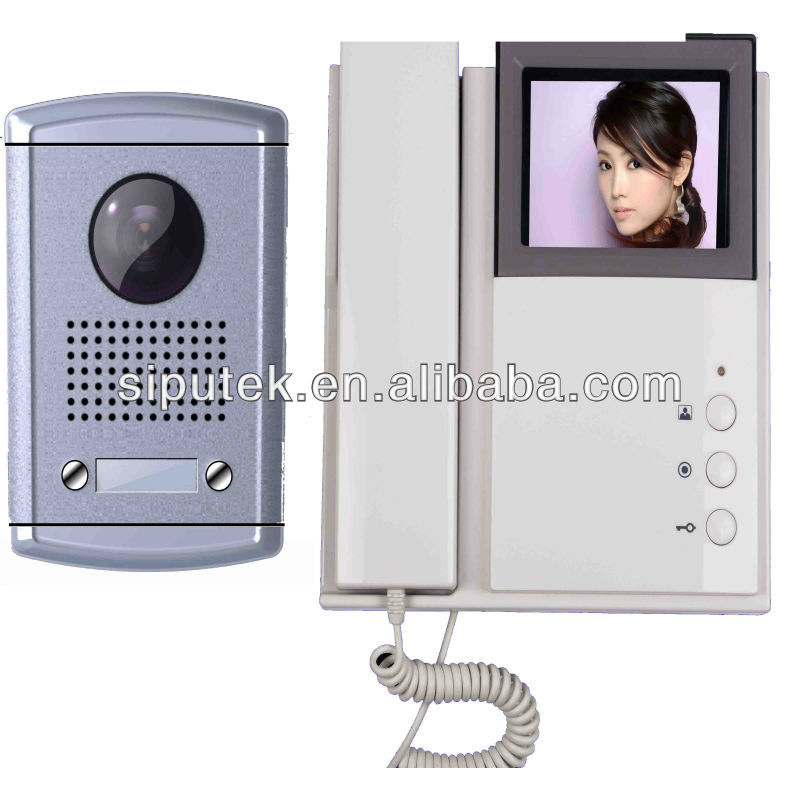 HOT sale 4-wire music digital video camera for apartments