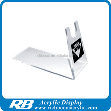 hot bended acrylic gun display stand for shop/exhibition/collection
