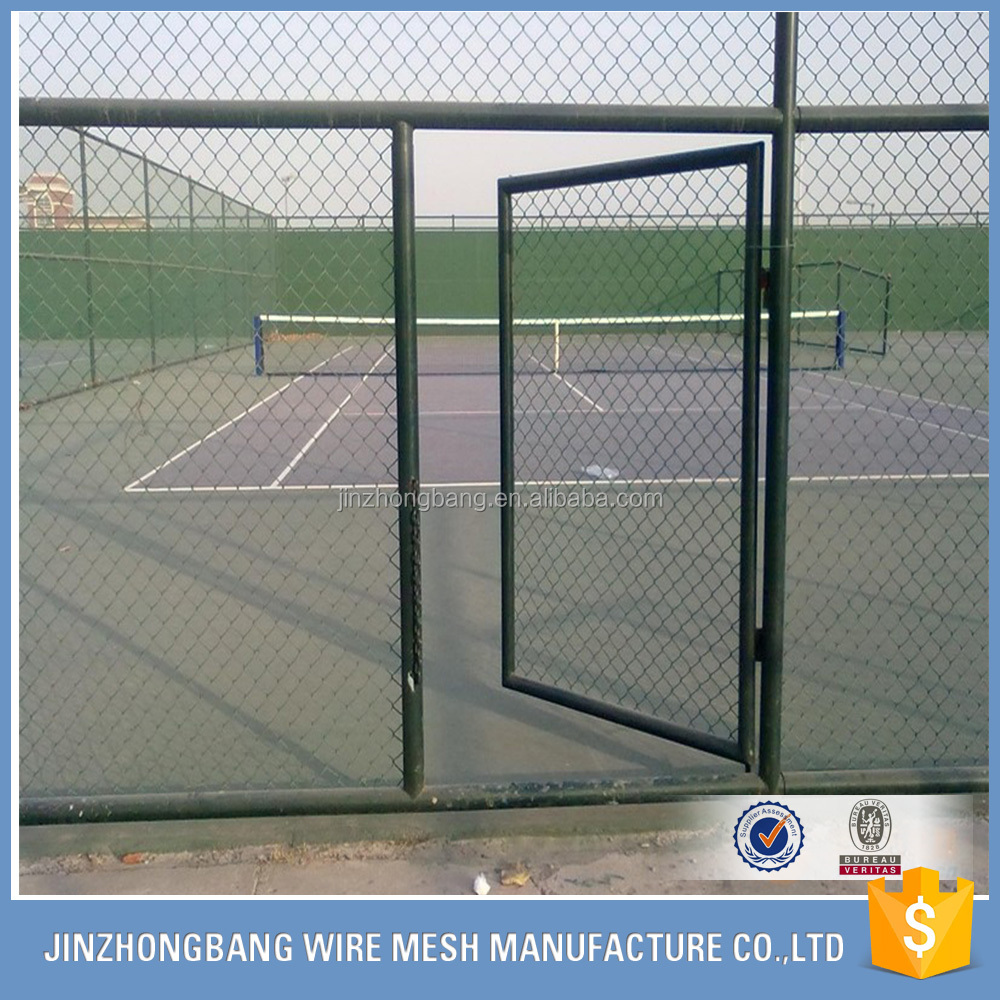 Anpingfactory supply high quality chain link wire mesh for sports fence