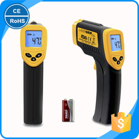 Forging furnaces non-contact infrared thermometer with laser point