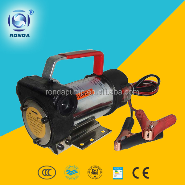 DYB 12v dc oil pump portable electric oil pump