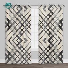High quality fabric stocked outdoor beaded door curtains with matching bedding