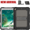 For iPad Case With Strap Kickstand Silicone Case For iPad Air 2 Cover