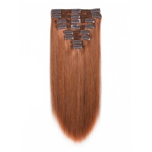 High quality 100 unprocessed cheap no shedding raw virgin brazilian one piece clip in human hair extensions