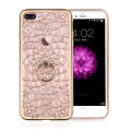 Luxury Phone Case For iPhone 6 Plus 6s Plus 6 6s 7 7Plus 3D Diamond Flower Mobile Phone Ring Holder Stand Cover
