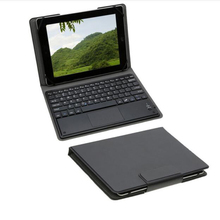 New Product 10.1 inch Tablet Wireless Removable Bluetooth Keyboard with Leather Case Cover