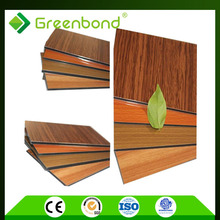 Greenbond environmental protection wood plastic composite exterior wall cladding panel materials