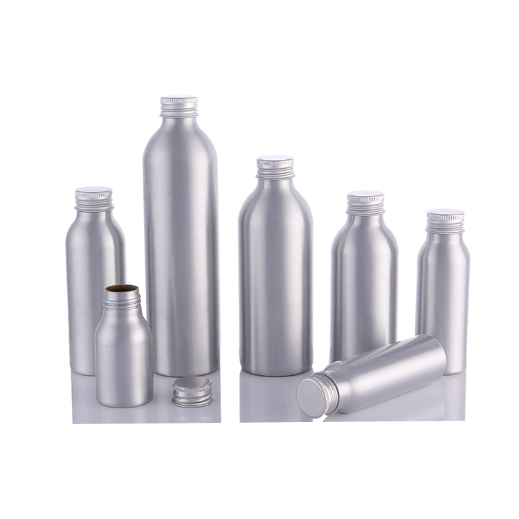 Made In China 10 Years Experience Aluminium Bottle Supplier 50ml 100ml 150ml 200ml 250ml 300ml 400ml 500ml 600ml aluminum bottle