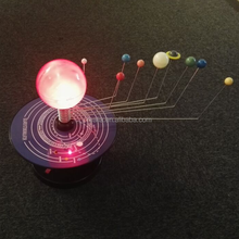 Electric Solar System Simulator Nine planets model for educational use