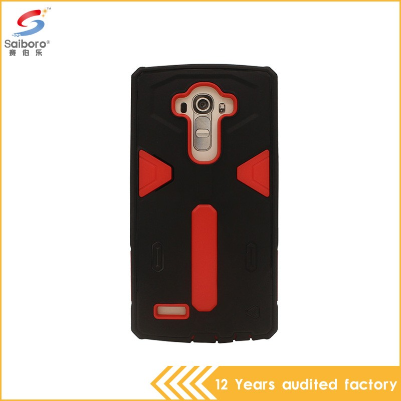 Popular style unique design 2 in1 case cover for lg g4 note