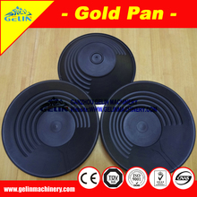 Multi texture gold panning for river alluvial gold sand separation