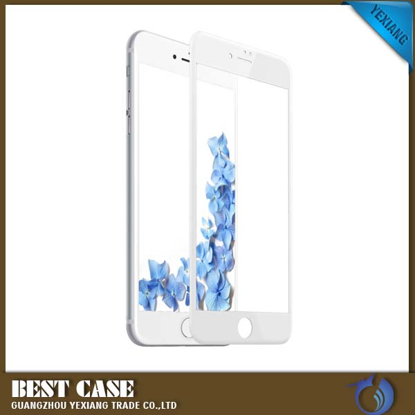 3D Coverage Smooth Touch Phone lcd Screen Protector Full Cover Tempered Glass For Iphone 7 plus