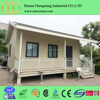 2016 modern luxury 2 storey prefab house low cost prefabricated container house for sale