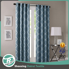 Cheap medical office woven print dimout curtain lining fabric curtain for drapery
