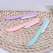 colorful foldable eyebrow trimmer/woman eyebrow knife