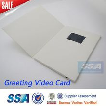 Digital mini lcd video screen business card video business card,lcd video card for invitation