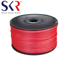 (Star King Rope)12-strand 1/4'' UHMWPE rope for winch,marine,towing,sling,Guyline and filming