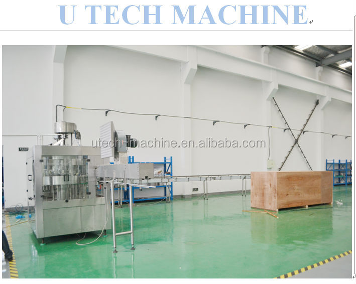 New started mineral water plant or drinking beverage factory