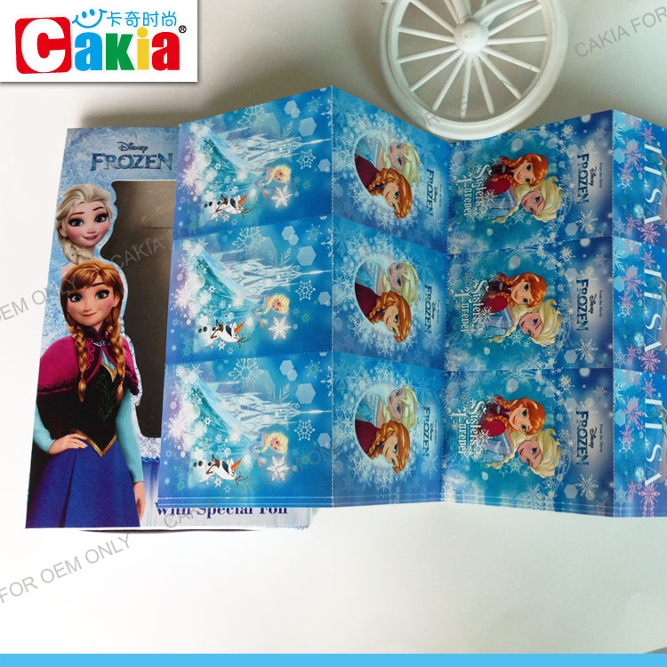 Chirstmas kids Frozen bulk decorating birthday greeting cards