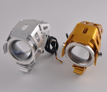 3000LM Waterproof Motorcycle LED Headlight High Power Spot Light