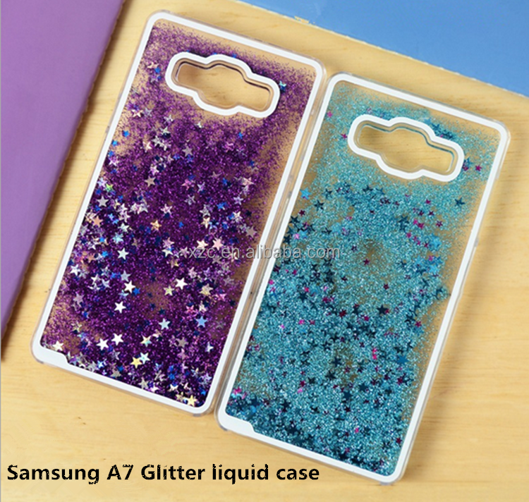 2016 star glitter liquid case for samsung i9190 galaxy s4 mini tpu case