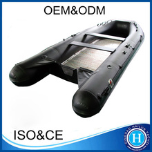 Folding Aluminum Floor Fishing boat inflatable boats china