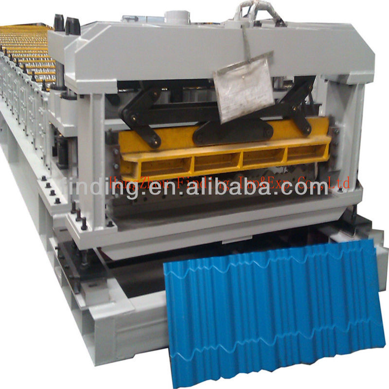 cement roof tiles / glazed tile roof panel roll forming machine / roof tile sheet rolling forming machine