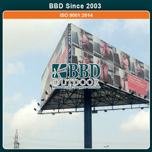 Competitive price hot selling outdoor shopping center trivision billboard