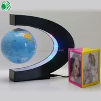 High end gift C shape base 3 inch floating globe different gift and craft