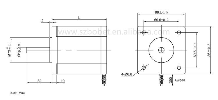 nema 34 stepper motor stepping motor for 3 axis cnc kit buy rh alibaba com  nema 34 stepper motor wiring diagram