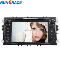 bluetooth car dvd 7 inch android double din car dvd gps for mendeo
