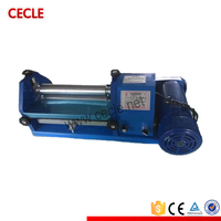 Small size newest zipper gluing machine