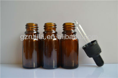 10ml mini antique glass essential oil bottle