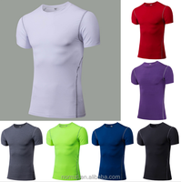 Colors T Shirts Men Compression Shirt
