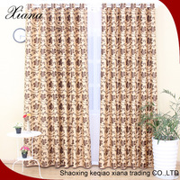 XIANA brand ED5008 affrica market brilliant patten jacquard suede luxury curtain fabric