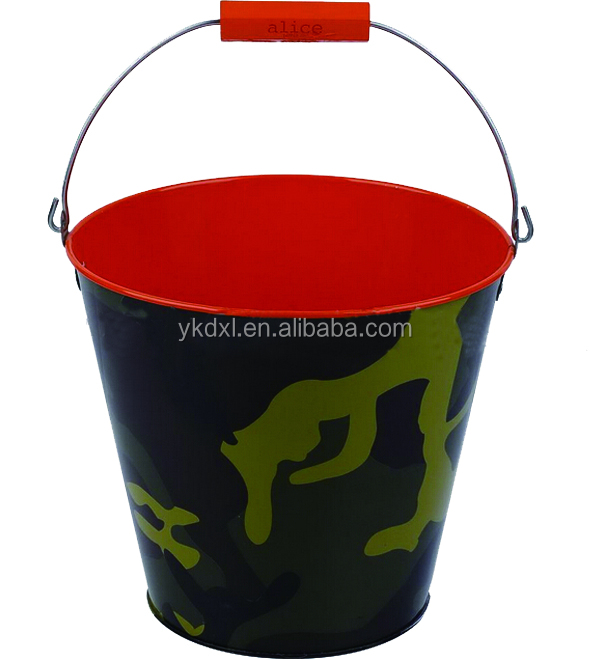 12L painting galvanized beer ice bucket