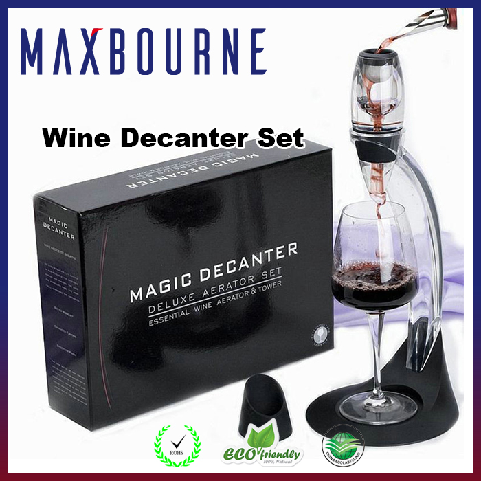 Hot Sales Magic Wine Aerator, Vinturi Wine Aerator Decanter with Hoder