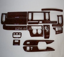 Toyota hiace KDH200 3D wooden dashboard installation sticker carbon fiber interior panel car body kit
