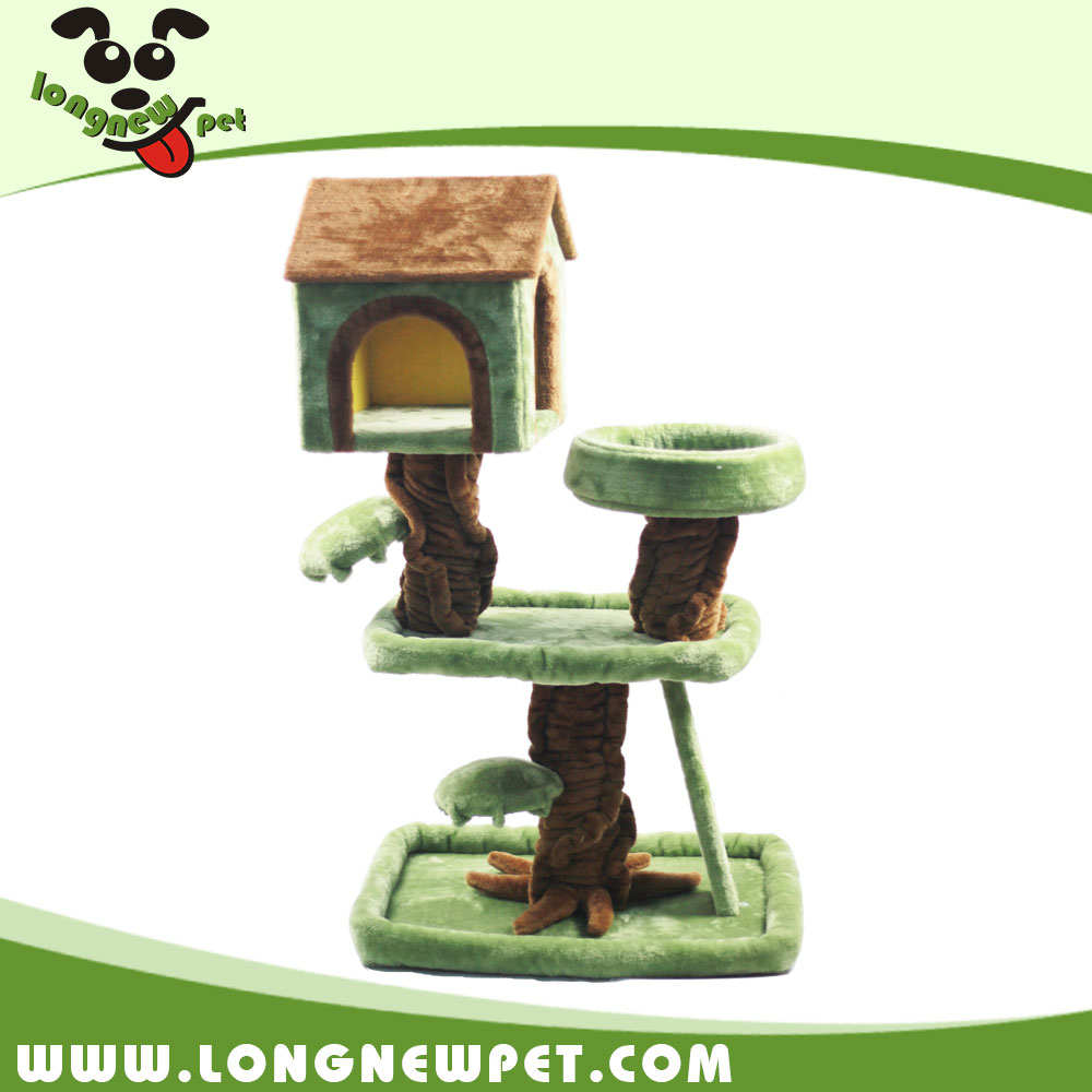 Wholesale Cheap Cat Scratch Toys Pet Cat Tree House for Cat