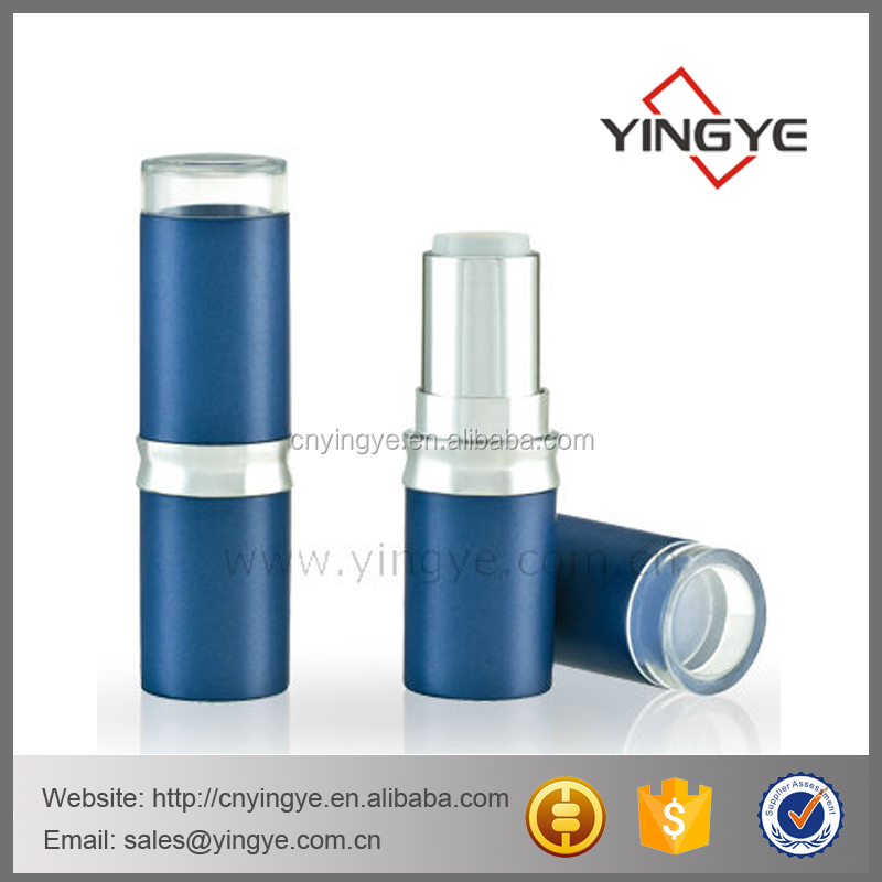 Custom private label round cosmetic lipstick tube luxury packaging