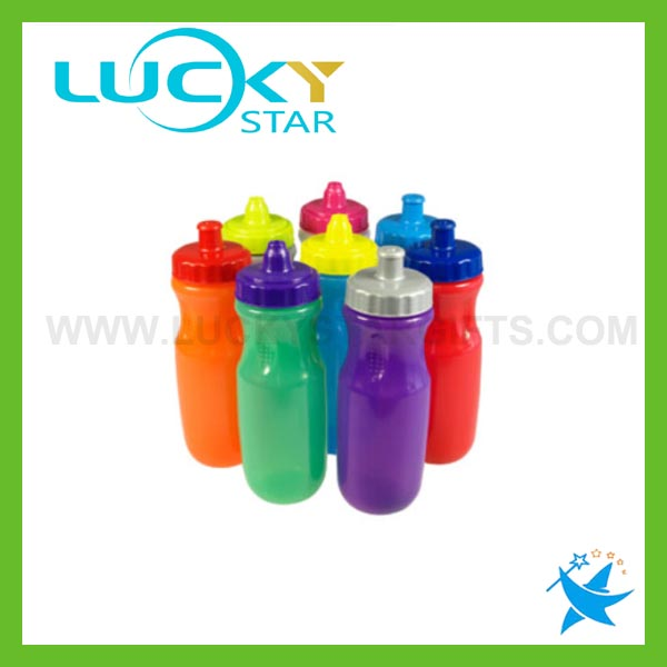 New design sports bottle leaf-proof plasitc bottles discount promotional products for soccer hiking travel