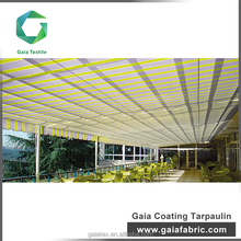 Wholesale Outdoor pu coated waterproof acrylic awning fabric