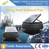 Latest design Factory supply 12 inch 14 inch solar powered attic roof exhaust fan