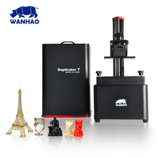 New coming 2017 hot sell WANHAO DLP SLA 3D printer D7 with 250mL uv resin for free