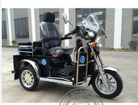 125cc air cooling motorcycle handicapped tricycle