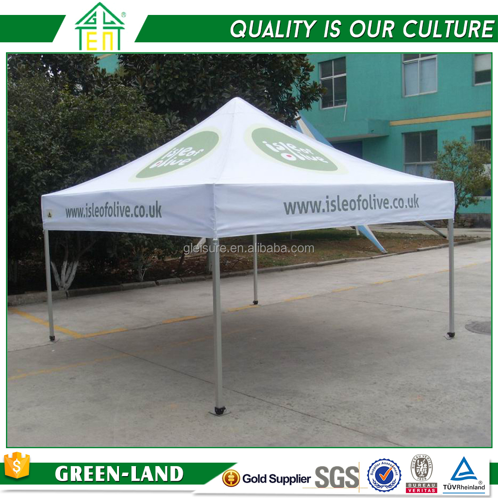 Wholesale outdoor tent 1.5x1.5m flat roof garden gazebo replacement canopy