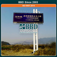 Stainless steel main product sample advertisement board