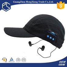 Buying online in china promotional cheap bluetooth hat /bike base cap